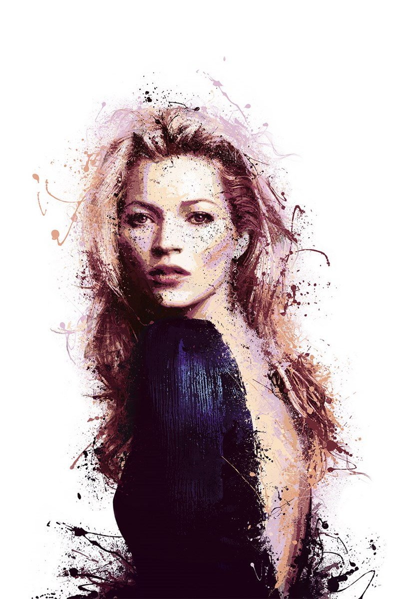 Modern Muse by Daniel Mernagh - Hand Embellished Limited Edition on Paper sized 20x30 inches. Available from Whitewall Galleries
